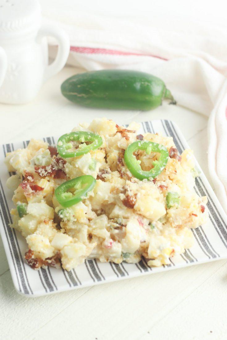 Cheesy Jalapeno Popper Potatoes