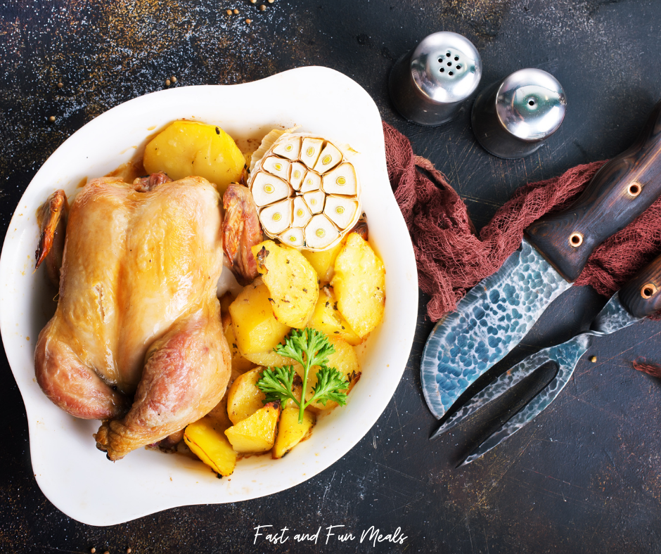 Featured image showing one of the best chicken recipes