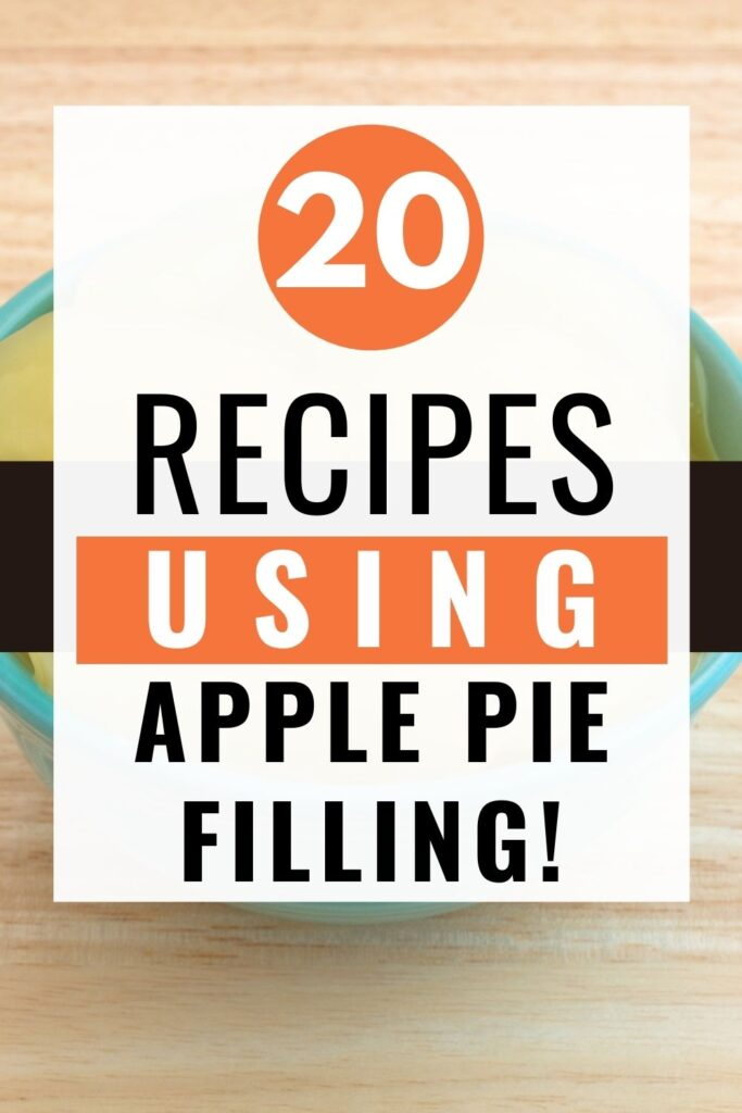 These apple pie filling recipes are very easy to make. They use canned pie filling since making your apple pie filling from scratch takes more time than most of us want to spend in the kitchen. Apart from being easy, these recipes are also very convenient!