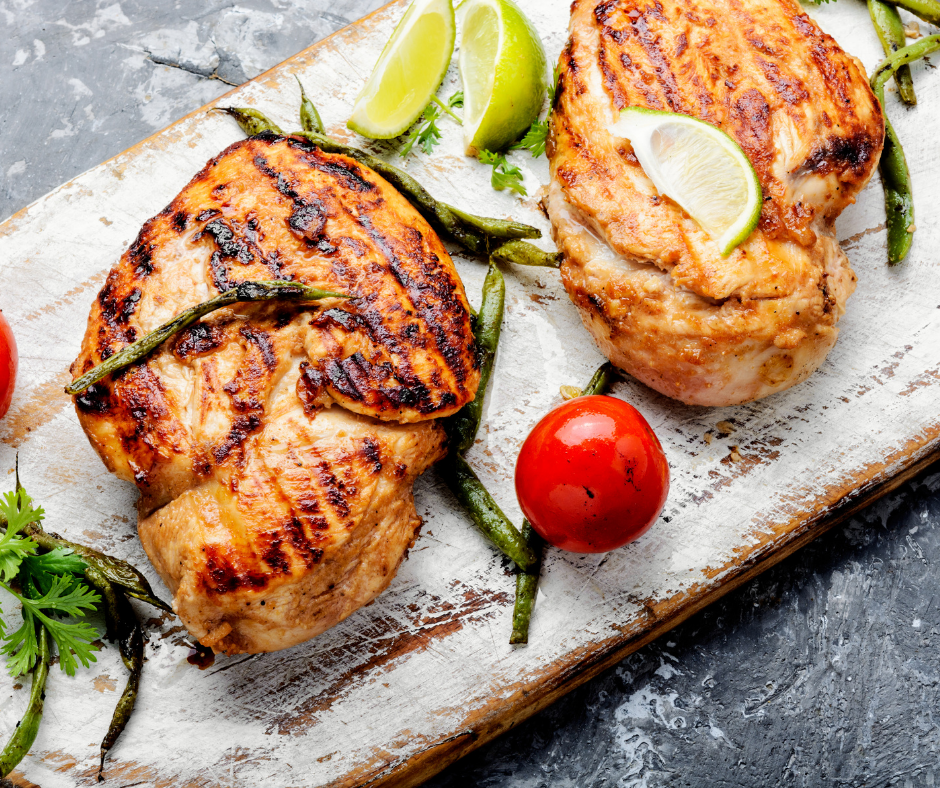 featured image showing recipes with turkey breast cooked and ready to eat.