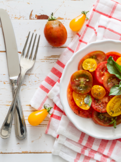 Making tomato salad recipes is super easy. Whether you're looking for something to pair with your crunchy veggies and crackers, something to add to your salad jars, or you just want some unique burger toppings, you have to try these recipes.