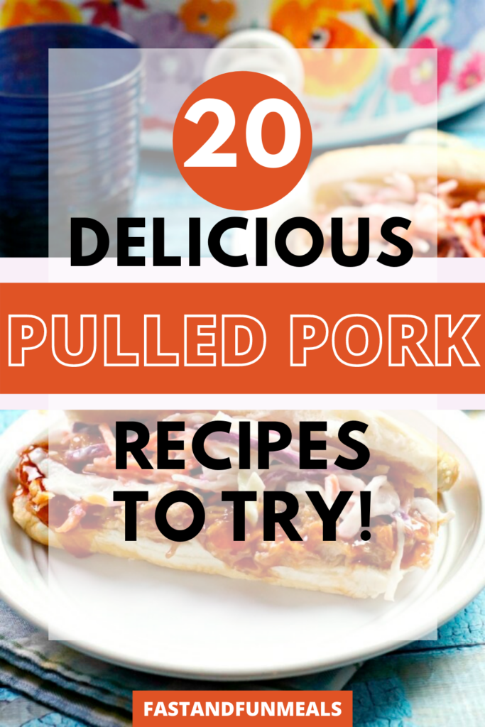 recipes for pulled pork