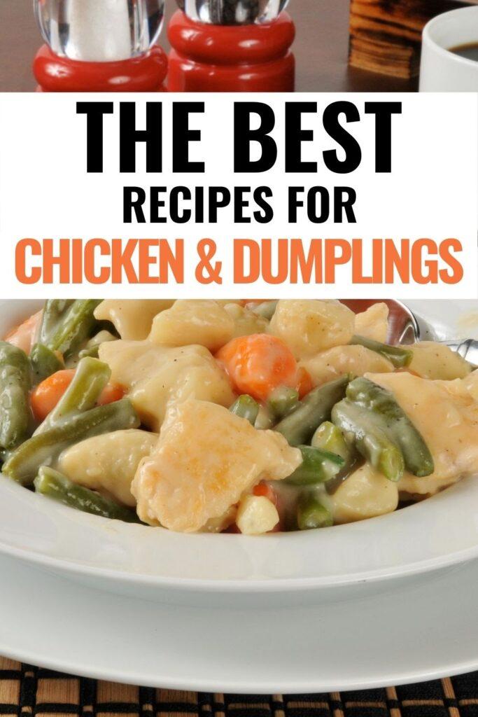 20 chicken and dumpling recipes