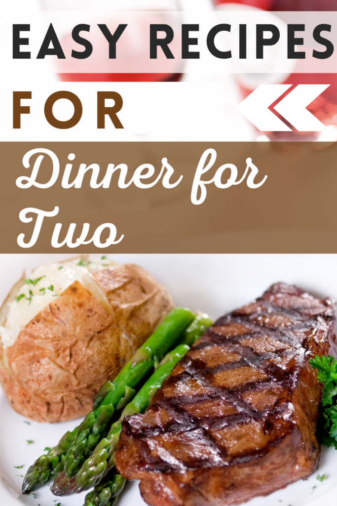 recipes for dinner for two