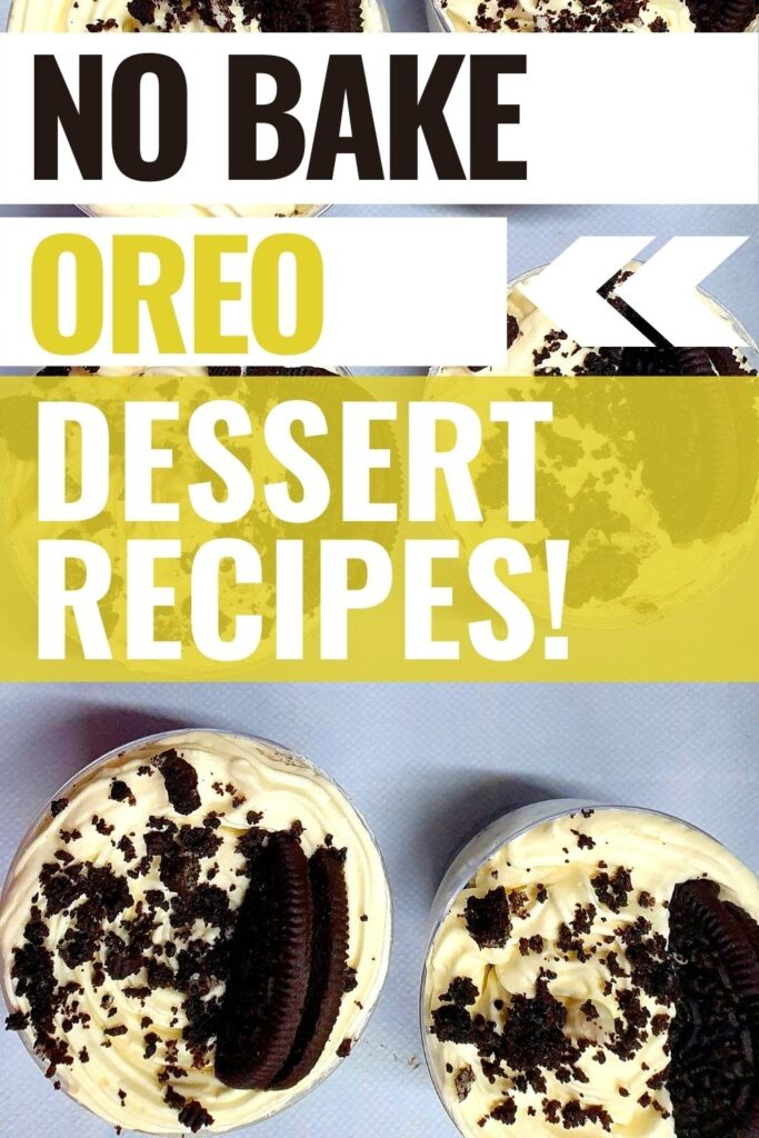 25 no bake Oreo desserts