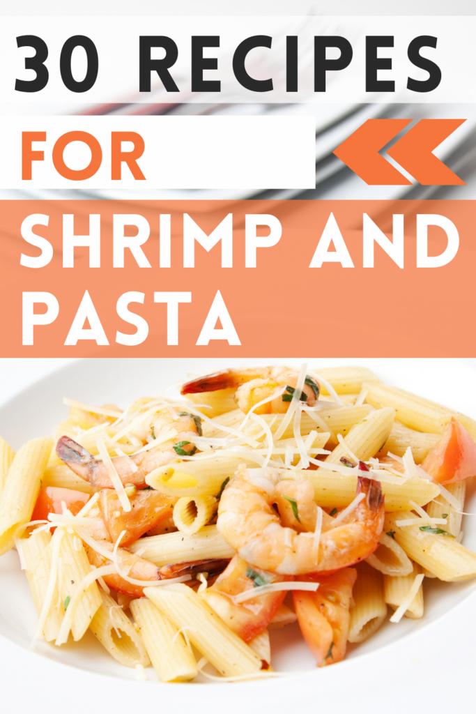 recipes for shrimp and pasta