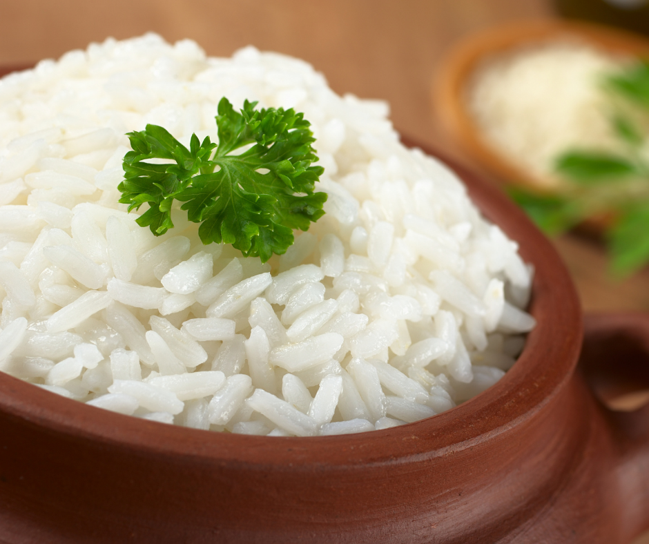 recipes for white rice